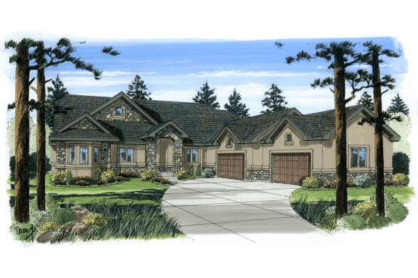 Custom Home Floorplan, Homes by Michael Hall
