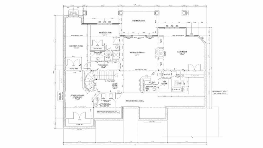 Galleria Lower Level Floorplan