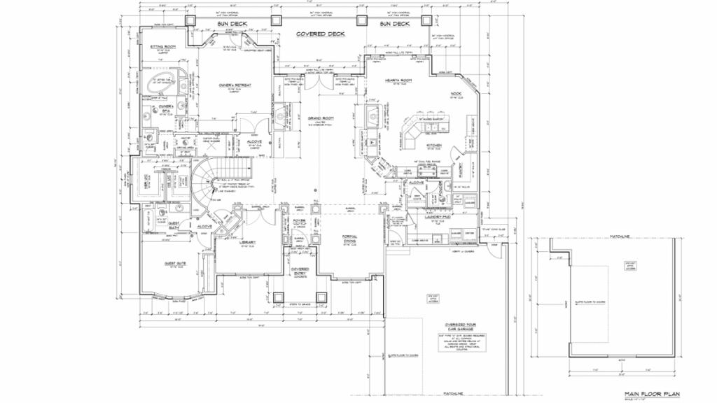 Galleria Main Floor plan