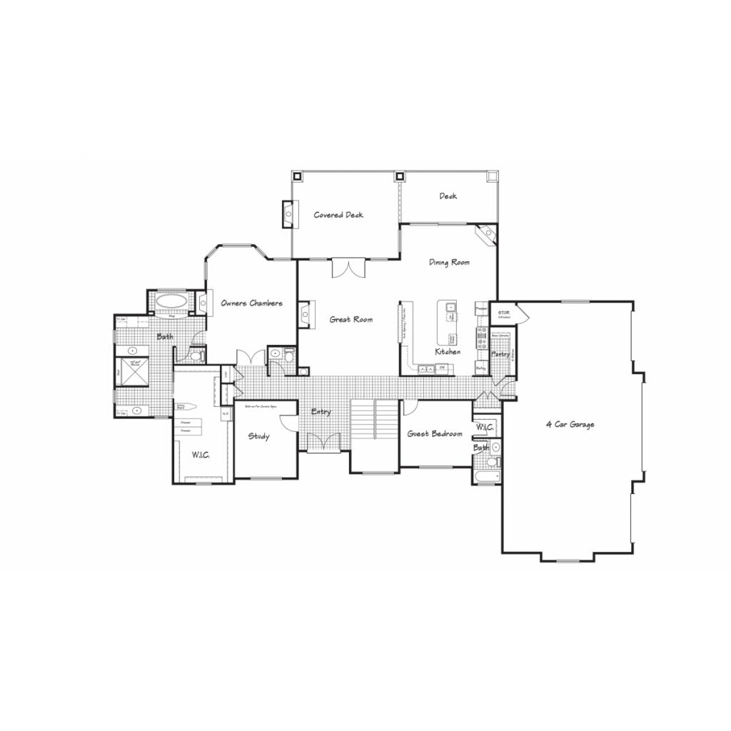 Trottier Main Floorplan