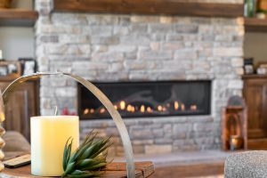 Monument Custom Home Fireplace
