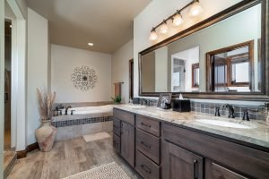 Custom Home in Monument Bathroom